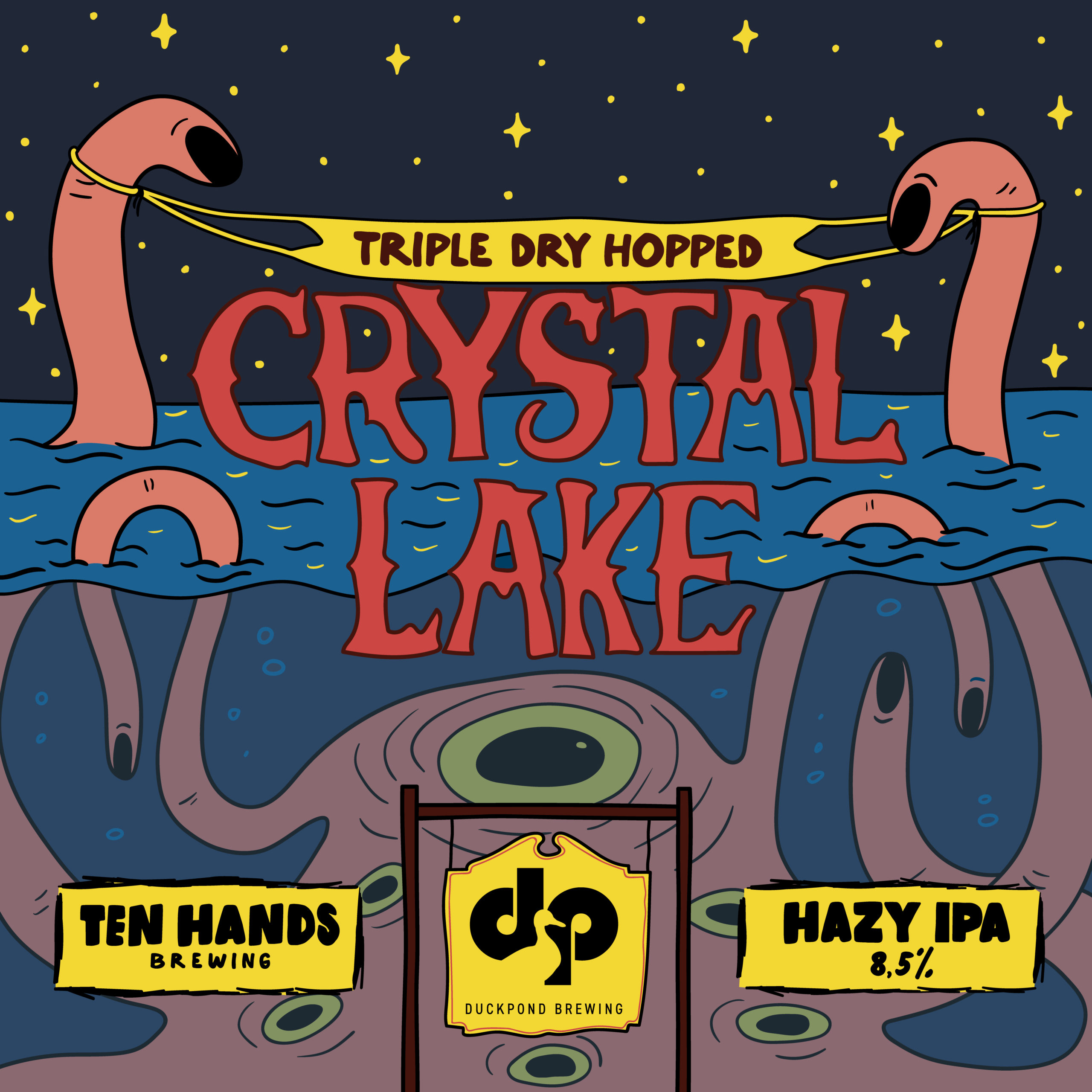Triple Dry Hopped Crystal Lake
